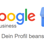 Google Maps Profil Inhaberschaft