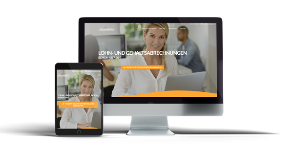 Meinlohnbuero Website Referenz
