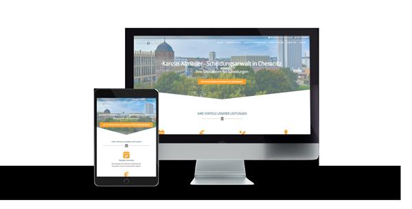 Scheidungsanwalt Chemnitz Website Referenz